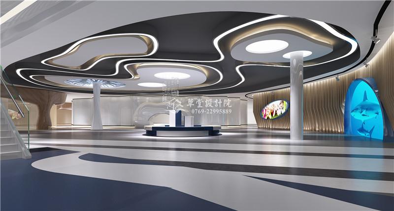 三亚青少年馆装修互动区设计
