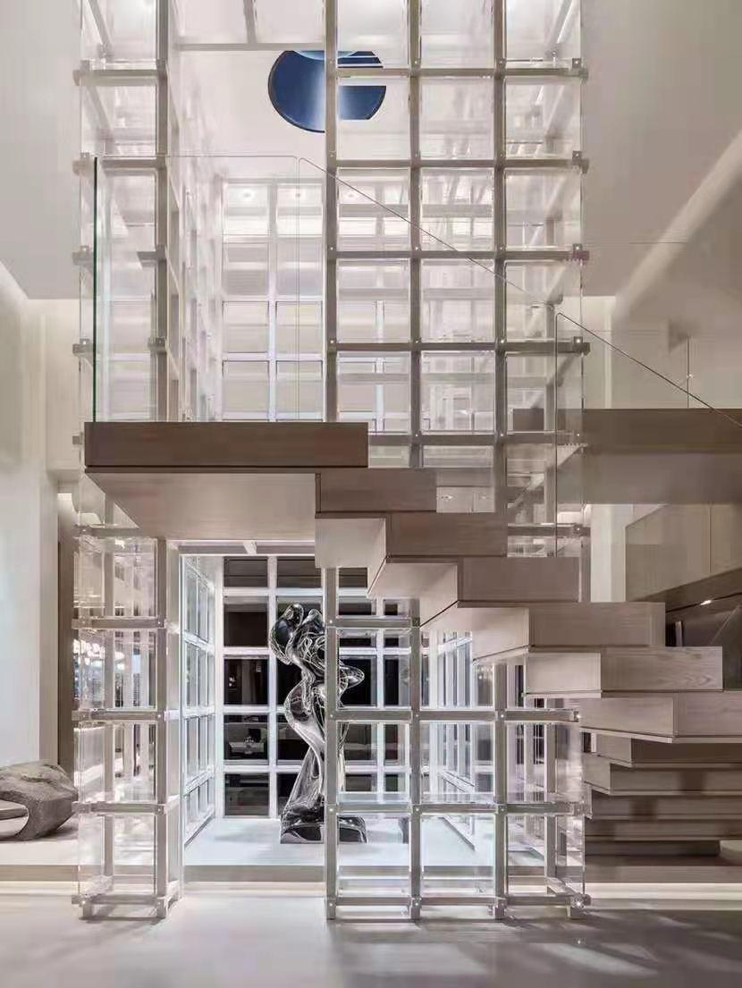 东莞别墅装修楼梯设计效果